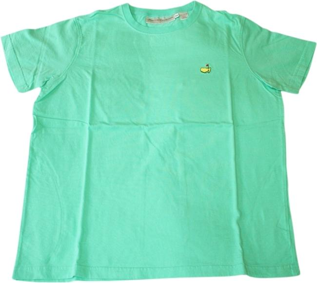Masters Official Golf T Shirt Kelley green