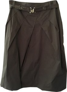 René Lezard Skirt Dark Brown