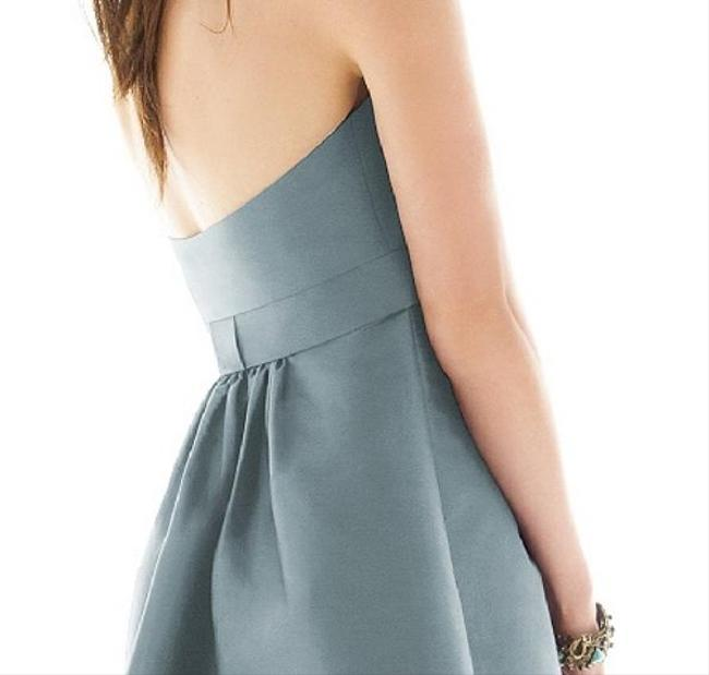 Alfred Sung Tea Length Halter Dress