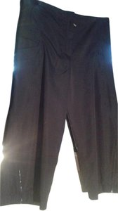 Jil Sander Capri/Cropped Pants black