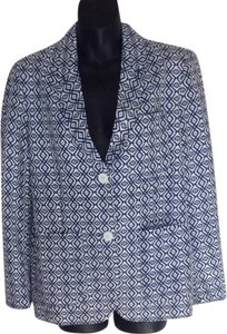 Joe Fresh Blue pattern Blazer