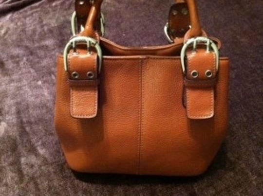 Tignanello Satchel in Pumpkin