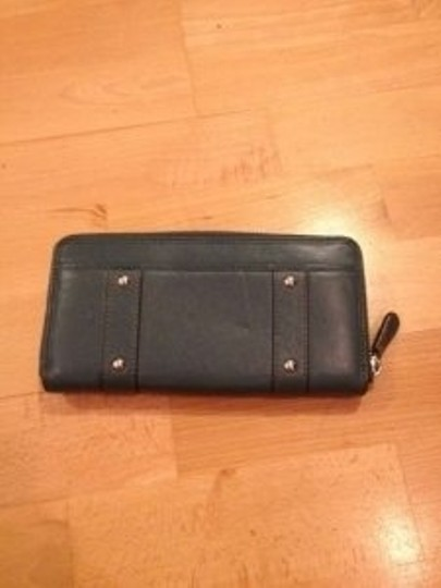 Coach Peacock Coach Wallet Zip Around With Buckles