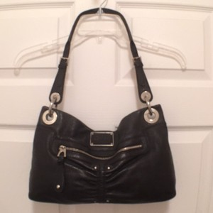 B. Makowsky Leather B. Tote Handbag Hobo Bag