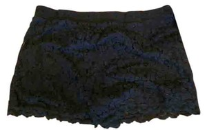 Other Lace Lace Trim Summer Shorts Black