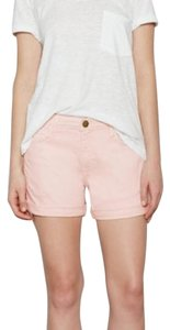 Current/Elliott Current Elliott Cuffed Shorts Pink