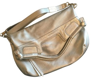 Foley + Corinna Metallic Hobo Tote Cross Body Bag