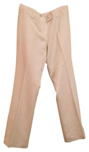Ann Taylor Boot Cut Pants White