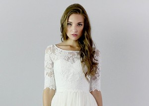 Lace Wedding Separate (top)