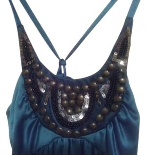 Preload https://item2.tradesy.com/images/charlotte-russe-turquoise-black-silver-and-copper-mini-short-casual-dress-size-4-s-156516-0-0.jpg?width=400&height=650