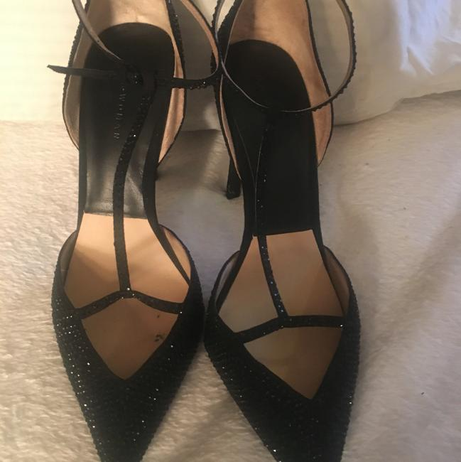 Item - Black with Shimmer Pumps Size US 9.5 Narrow (Aa, N)