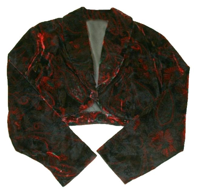 Item - Bolero Jacket Maroon Top