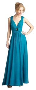 hoaglund new york Silk Chiffon Formal Dress