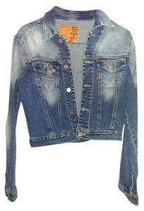 Dollhouse Jean Washed denim Womens Jean Jacket