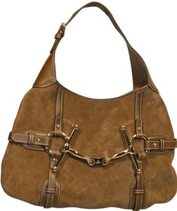 Gucci Vintage Suede Limited Edition Anniversary Hobo Bag
