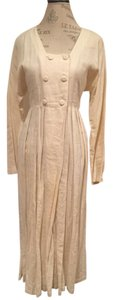 Cream/off white Maxi Dress by Rated R Vintage