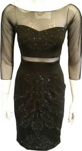 Alexia Admor Beaded Embellished Dress