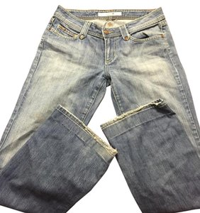 JOE'S Short Boot Cut Jeans-Medium Wash