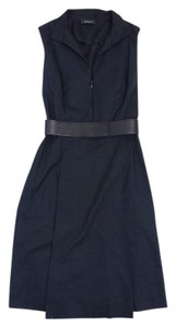 Akris short dress Black Sleeveless Collared on Tradesy