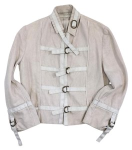 Stella McCartney Cream Embroidery Jacket