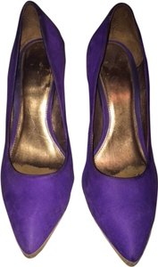 TopShop Suede Purple Pumps