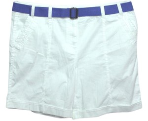 Style & Co Plus Size Fashions Belted Bermuda Shorts