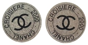 Chanel [ENTERPRISE] Croisiere 2000 Clip On earrings CEGR04