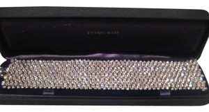 Tiffany & Co. VINTAGE TIFFANY & CO. 18KT WHITE GOLD DIAMOND TENNIS BRACELET