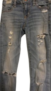 American Eagle Outfitters Distressed Stretchy Skinny Jeans-Distressed