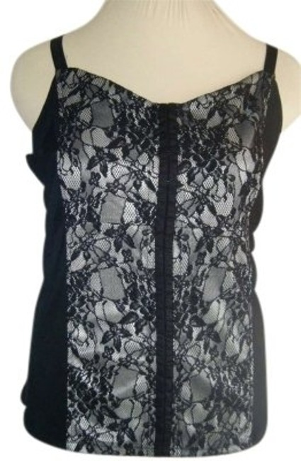 Preload https://img-static.tradesy.com/item/156562/avenue-black-and-white-lace-22-w-down-front-corset-look-lined-adj-straps-tank-topcami-size-24-plus-2-0-0-650-650.jpg
