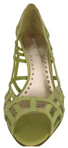 BCBGeneration Lemon Green Pumps
