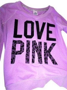 PINK sweat top Sweatshirt