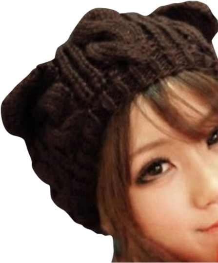 Unknown Beanie Cat Ears (Coffee)