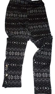 Poof Excellence Skinny Pants Black multi