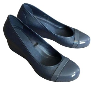 Crocs Blue Wedges