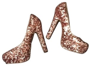 Steve Madden Rose gold Platforms