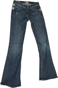 William Rast Flare Leg Jeans-Distressed