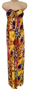Multi-Colored Maxi Dress by Tibi Padded