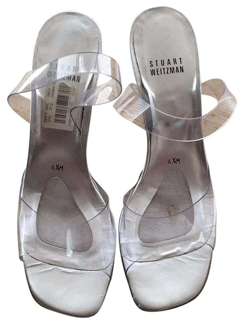 Item - Clear / Silver Formal Shoes Size US 6.5 Narrow (Aa, N)