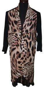 Chico's Animal Print Cardigan
