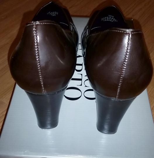 Franco Sarto brown chocolate Pumps