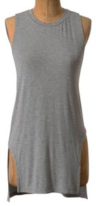 Anthropologie Muscle Edgy T Shirt Grey