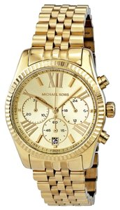 Michael Kors Michael Kors Chronograph Gold Ladies Watch