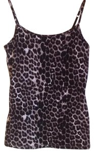 Express Top Black cheetah print