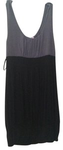 Body Central short dress Black / gray Scoop Neck Party on Tradesy