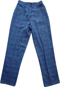 Burberry Straight Pants blue