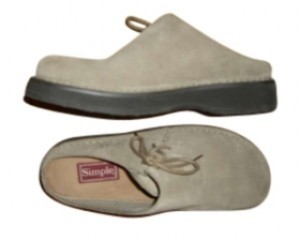 Aller Simplement Suede Comfortable Sand Mules