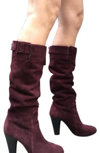 CoSTUME NATIONAL Burgundy. Boots