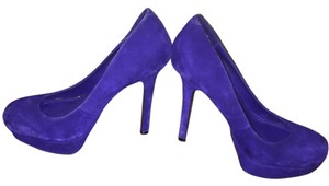 Steve Madden Royal blue Platforms