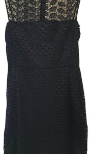 Diane von Furstenberg short dress Navy on Tradesy